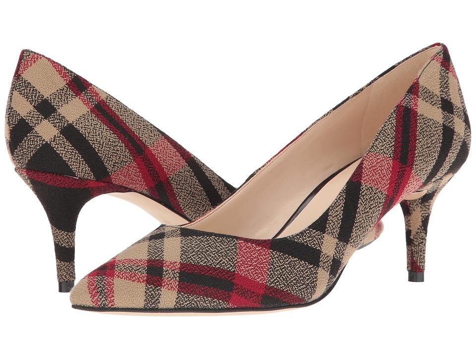 Nine West - Margot (Black Multi Fabric) High Heels