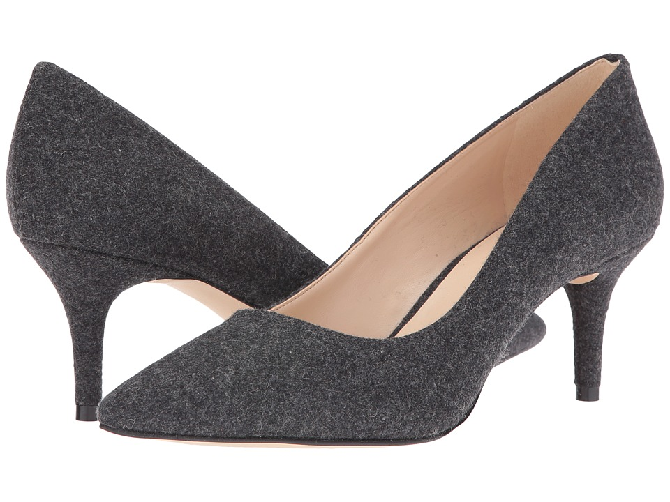 Nine West - Margot (Dark Grey Fabric Fabric) High Heels