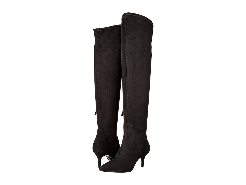 Nine West - Marcia (Black Suede) Women's Shoes