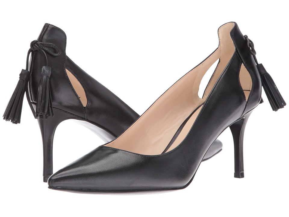 Nine West - Modesty (Black Leather) Women's Shoes