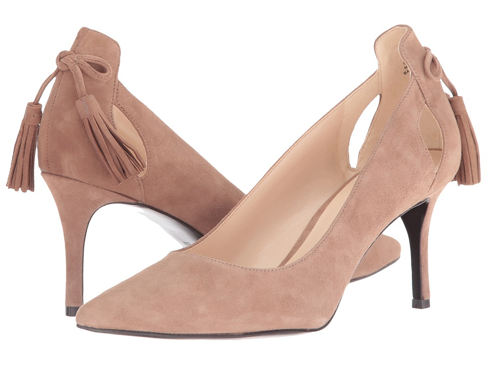Nine West - Modesty (Natural Suede) Women's Shoes