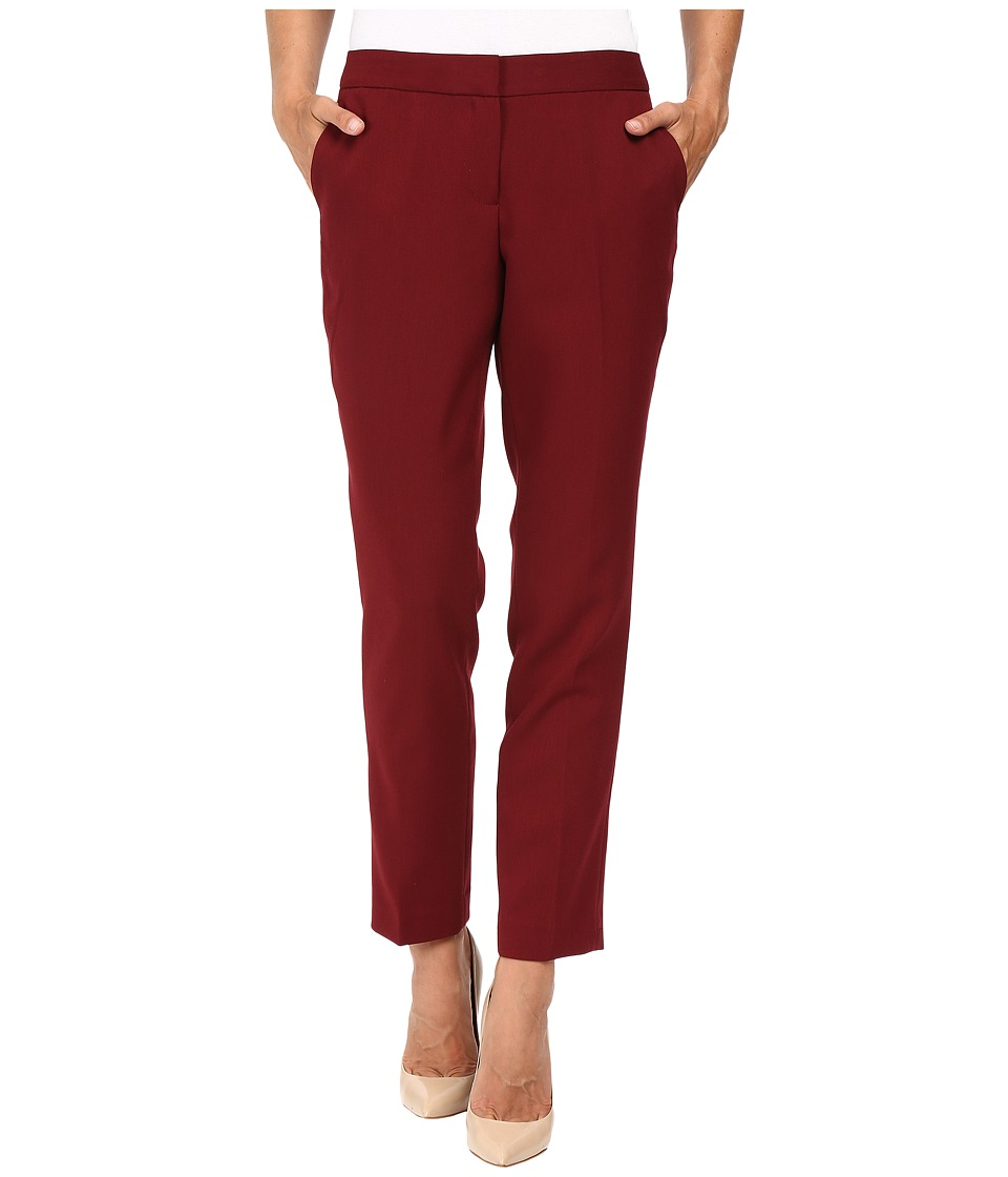 Vince Camuto - Skinny Ankle Pants (Malbec Red) Women's Casual Pants