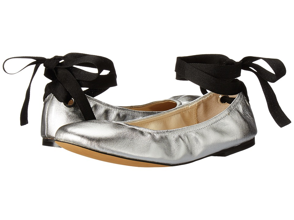 Steve Madden - Meow (Silver Leather) Women's Shoes