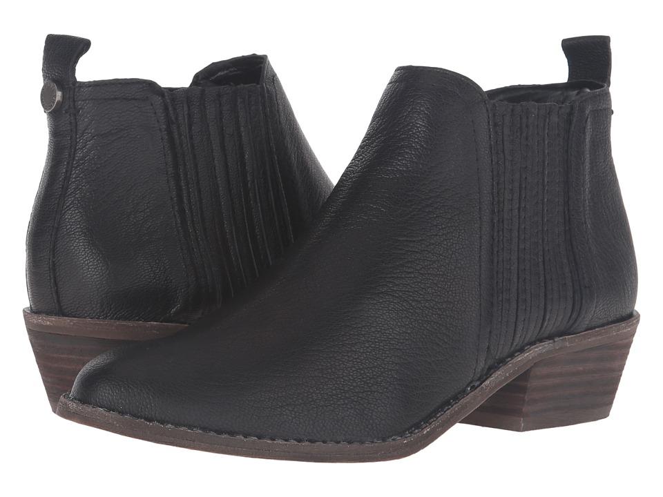 Steve Madden - Tallie (Black Leather) Women's Shoes