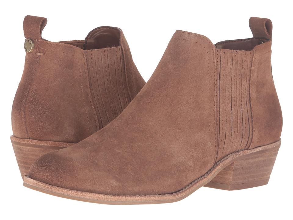 Steve Madden - Tallie (Cognac Suede) Women's Shoes