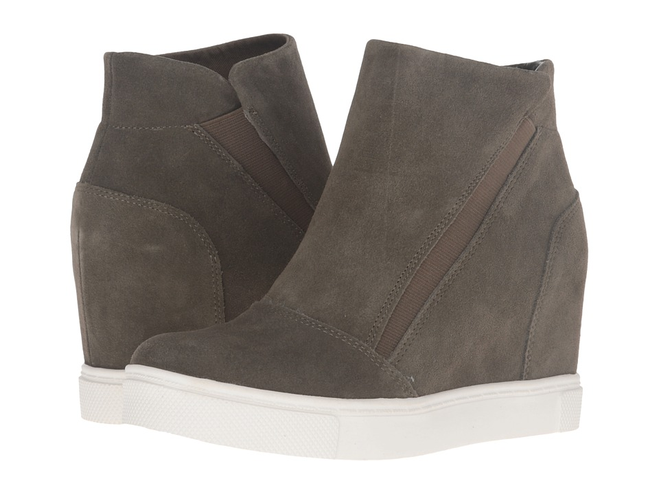 Steve Madden - Lazaruss (Olive Suede) Women's Shoes