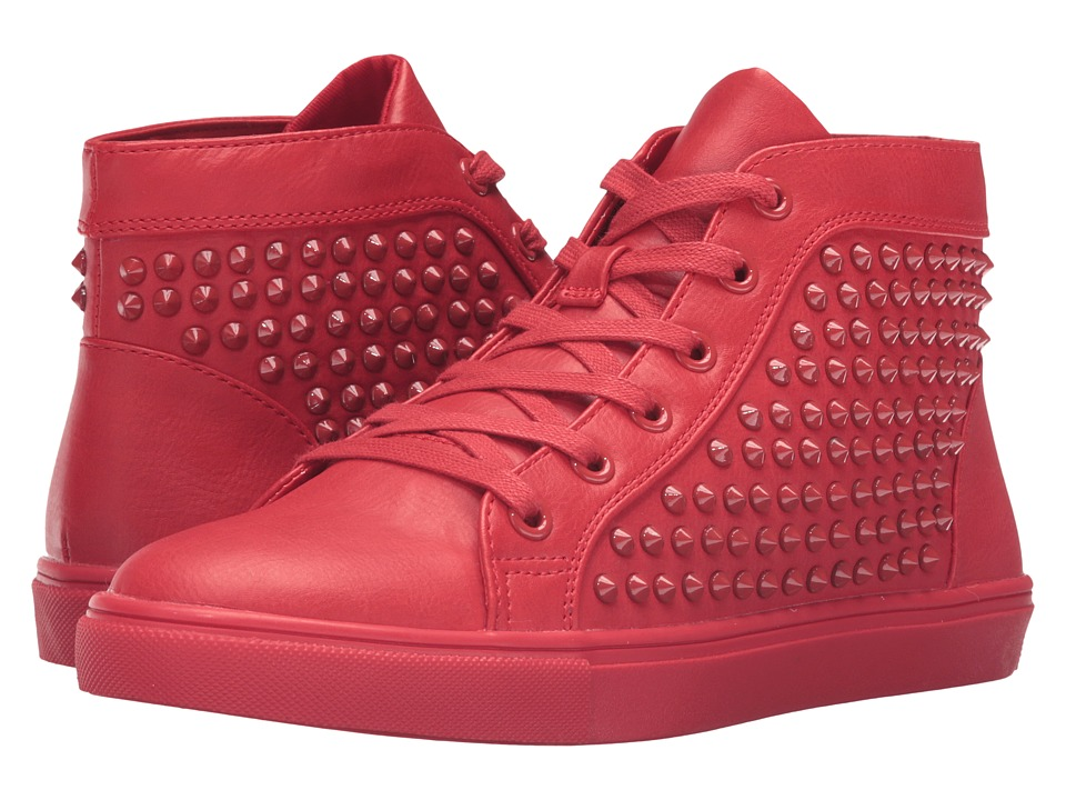 Steve Madden - Levels (Red Studs) Women's Shoes