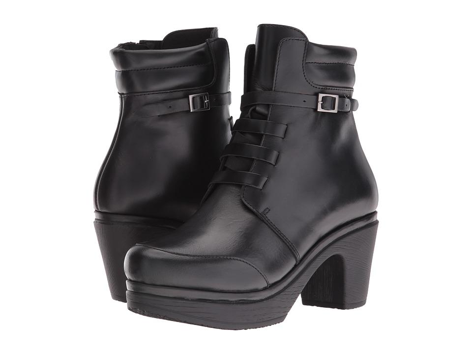 Calou Stockholm - Hanna (Black) Women's Clog Shoes