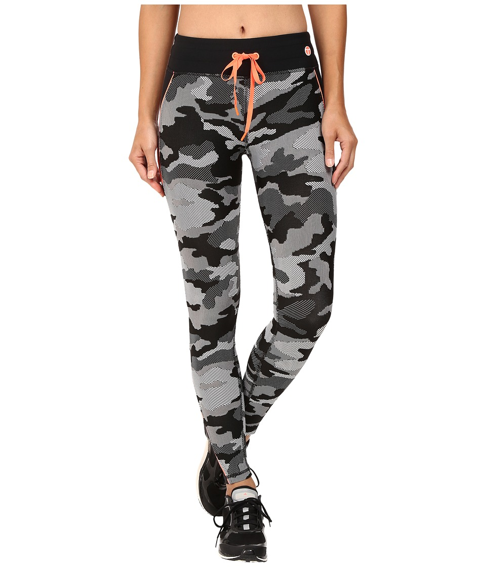 Trina Turk - Congo Camo Full-Length Leggings (Black) Women's Workout