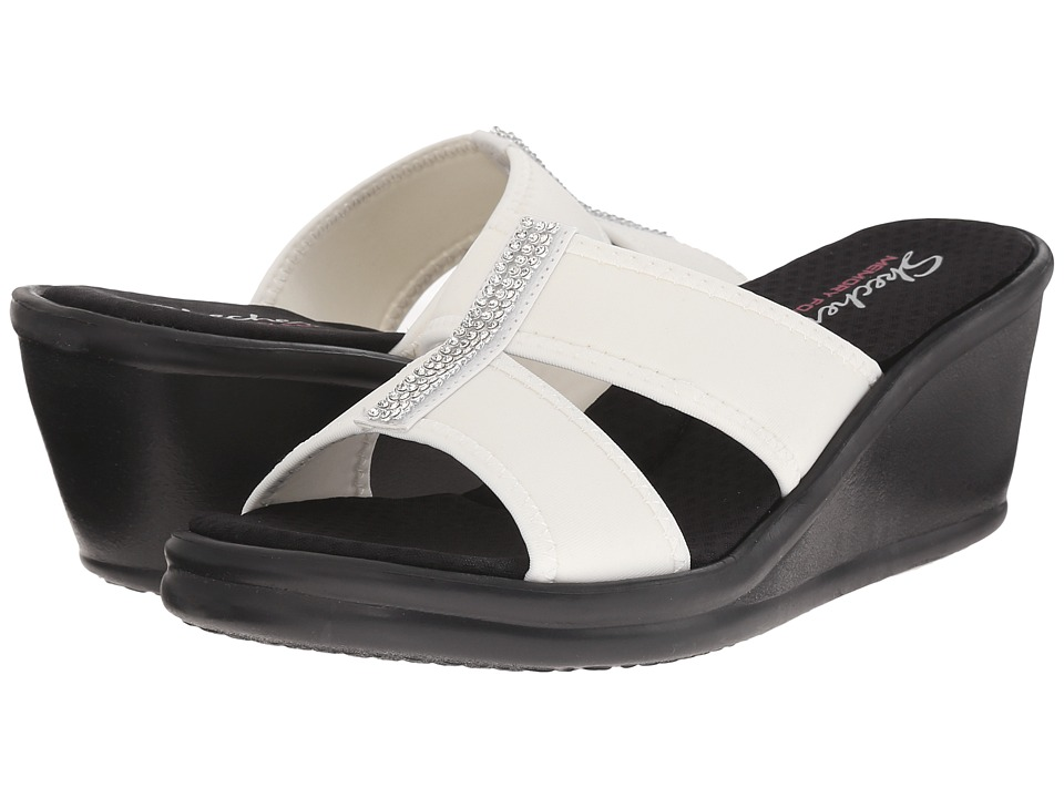 SKECHERS - Rumblers - Risk Taker (White) Women's Sandals