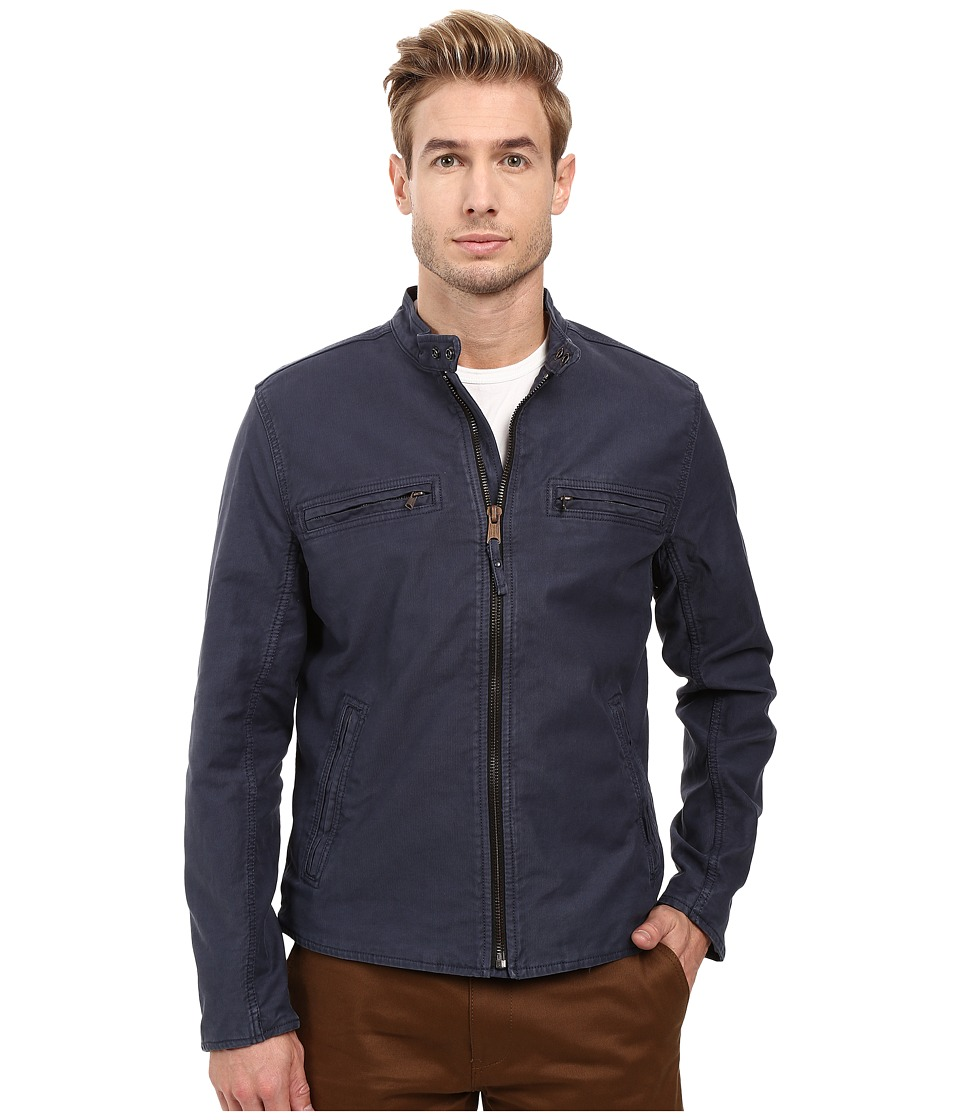 Lucky Brand - Bedford Racer Jacket (Black Iris) Men's Coat