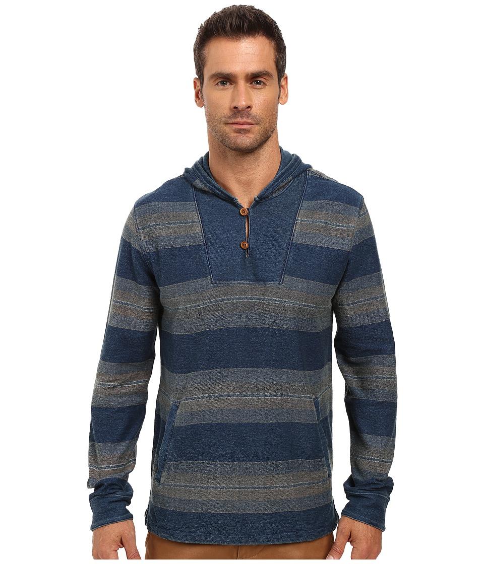 Lucky Brand - Baja Hoodie (Indigo) Men's Sweatshirt