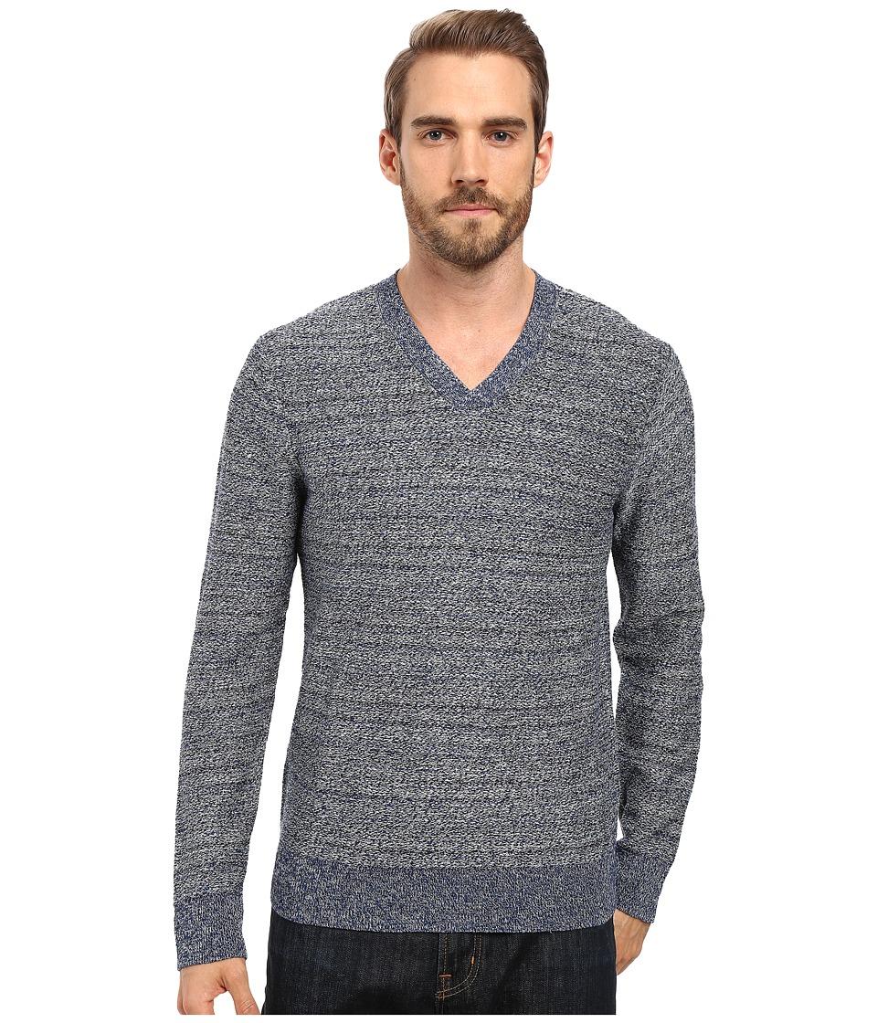 Lucky Brand Novelty Sweater (Blue) Men