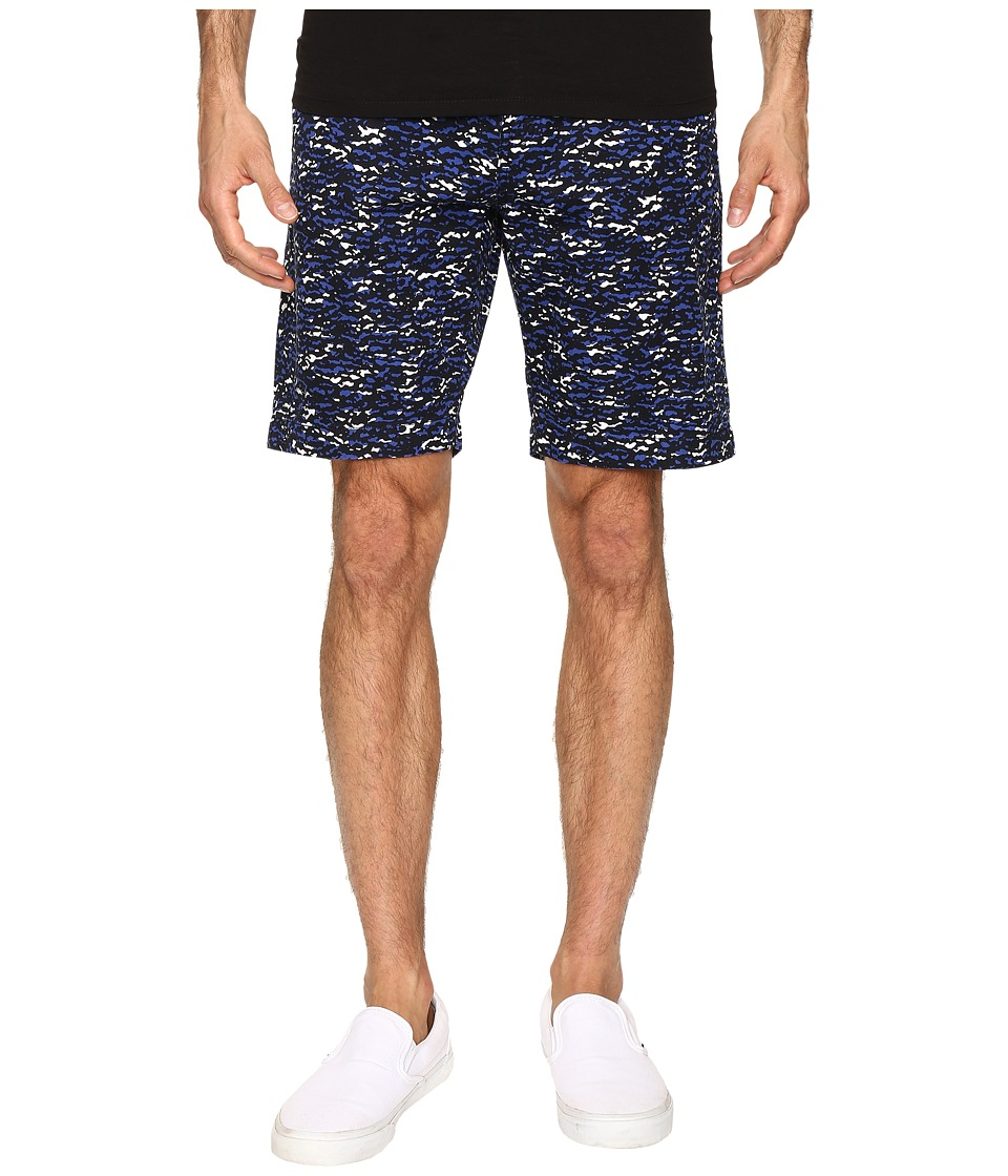 Lacoste - Camo Print Bermuda Shorts (Cosmos/Steamer/White) Men's Shorts