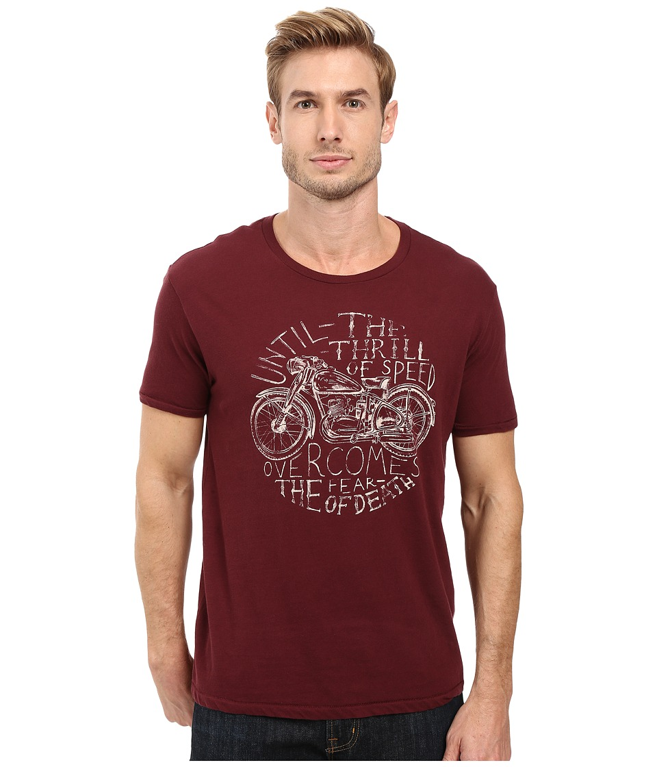 Lucky Brand - Thrill of Speed Graphic Tee (Port Royale) Men's T Shirt