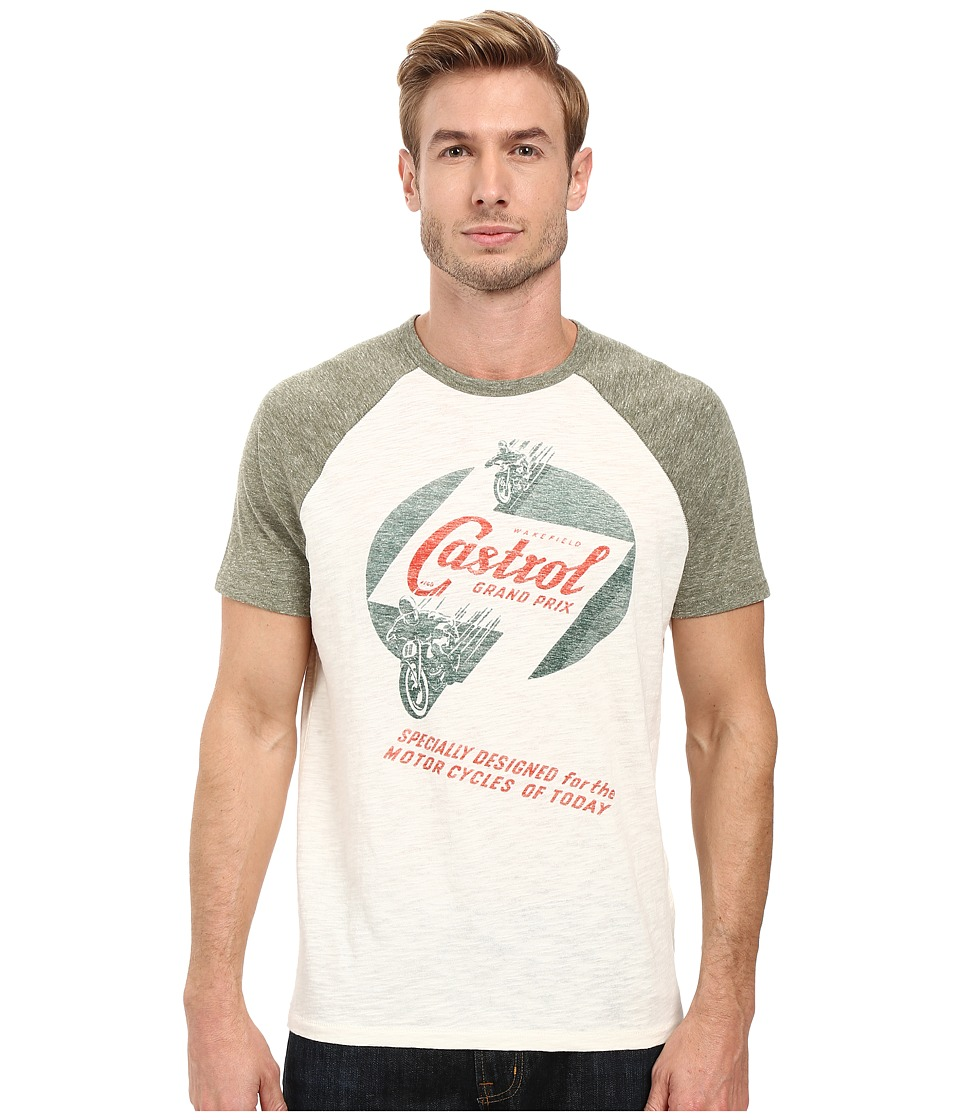 Lucky Brand - Castrol Grand Prix Graphic Tee (Multi) Men's T Shirt