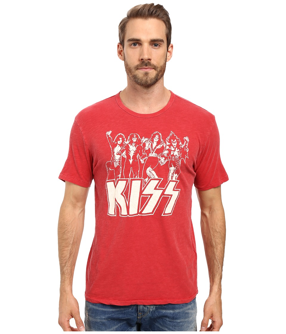 Lucky Brand - Kiss Destroyer Graphic Tee (Samba) Men's T Shirt