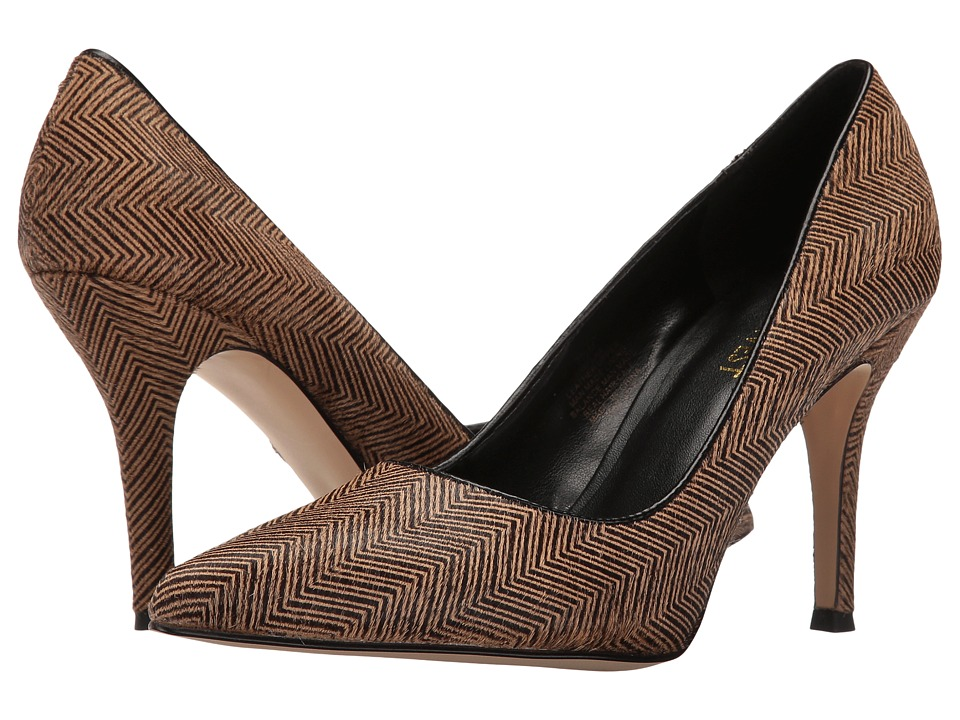 Nine West - Flax 5 (Natural Combo/Black Pony) Women's Shoes