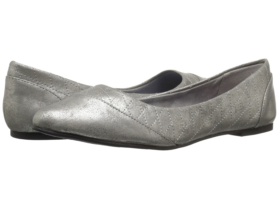 Rocket Dog - Rynna (Pewter Reflect) Women's Slip on Shoes