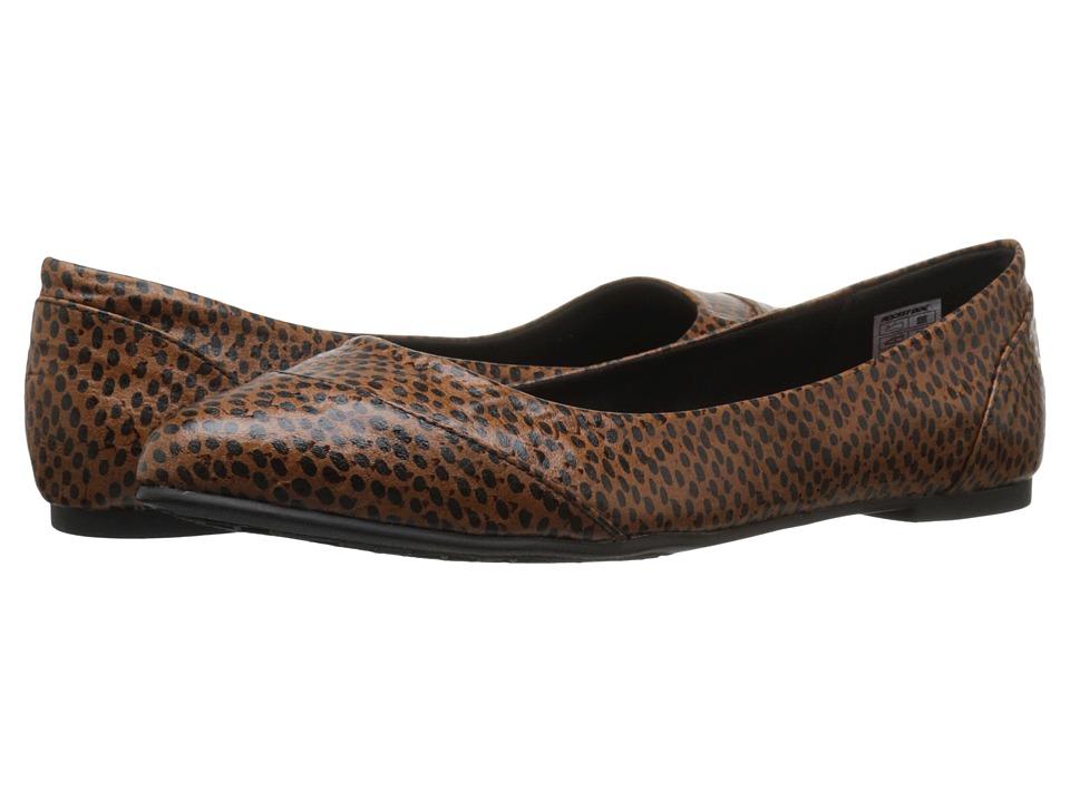 Rocket Dog - Rynna (Brown Safari Snake) Women's Slip on Shoes