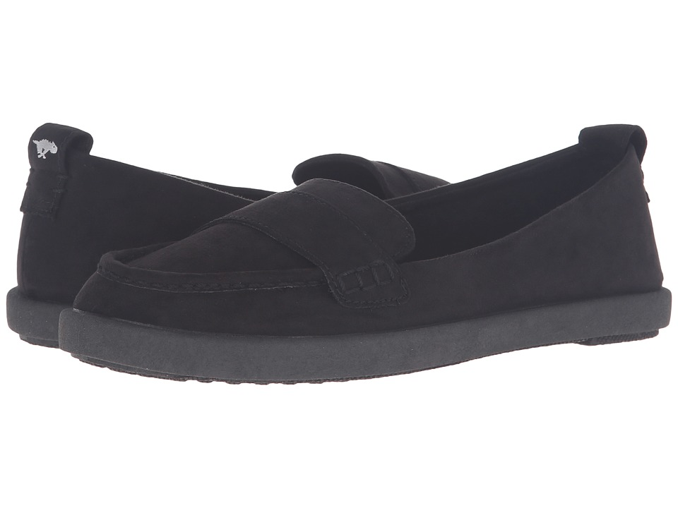 Rocket Dog - Azusa (Black Coast) Women's Slip on Shoes