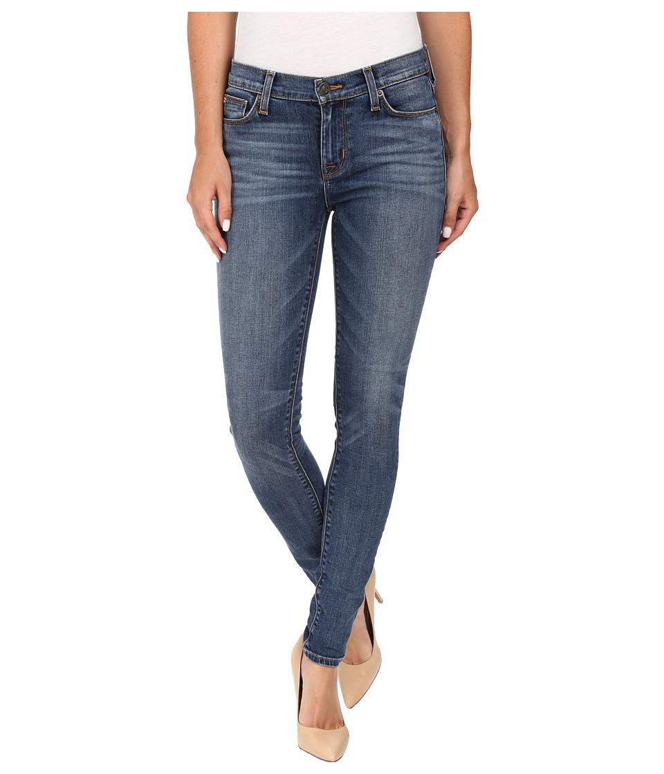 Hudson - Nico Mid-Rise Skinny in Legion (Legion) Women's Jeans