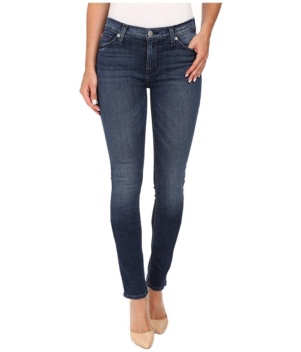 Hudson - Shine Mid-Rise Skinny in Moonshine (Moonshine) Women's Jeans