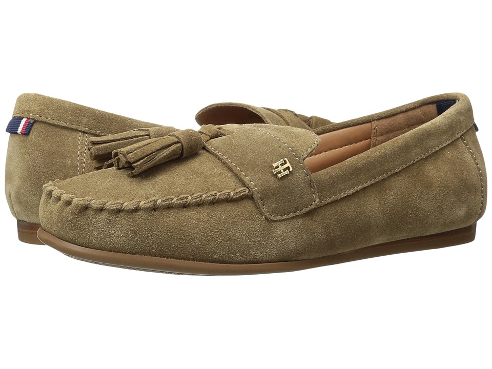 Tommy Hilfiger - Finis (Brown Olive) Women's Shoes