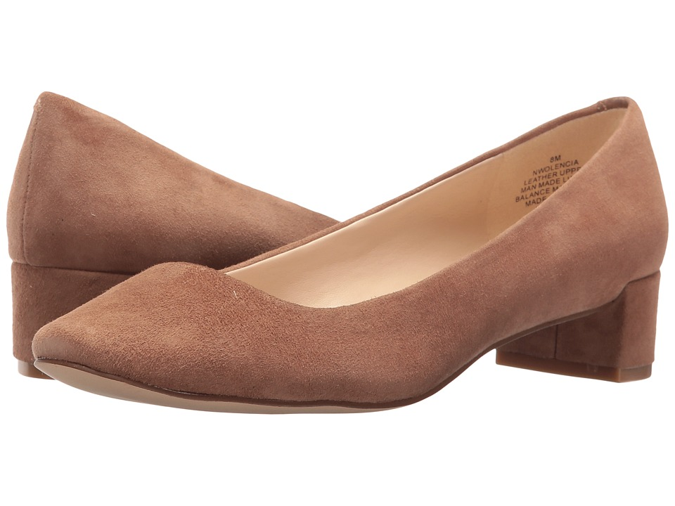 Nine West - Olencia (Dark Natural Suede) Women's Shoes