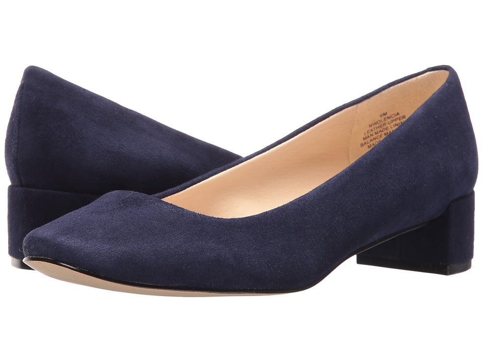 Nine West - Olencia (Navy Suede) Women's Shoes