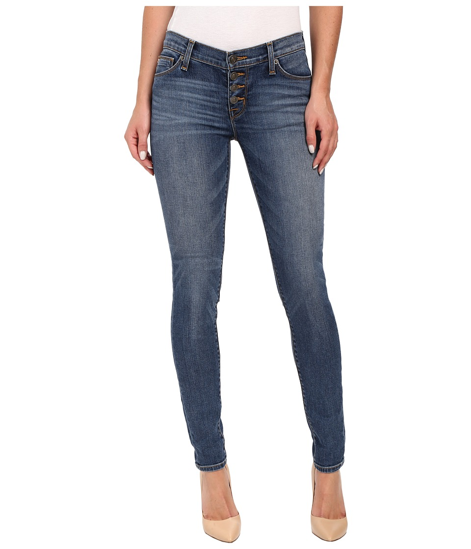 Hudson - Ciara Skinny Exposed Buttonfly in Legion (Legion) Women's Jeans
