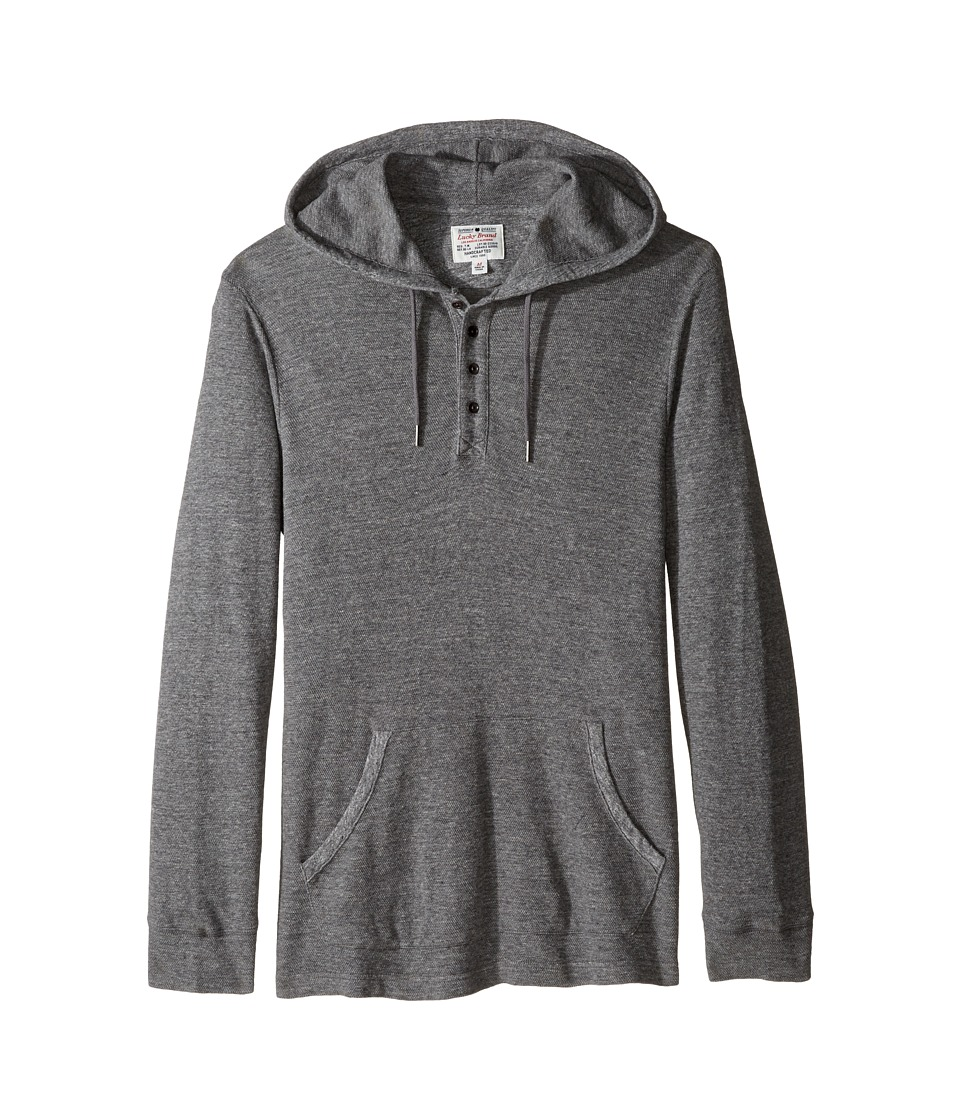 Lucky Brand - Grey Label Hoodley (Heather Grey) Men's Clothing