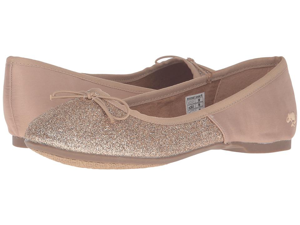 Rocket Dog - Trinidad (Honey Sugar Glitter) Women's Slip on Shoes
