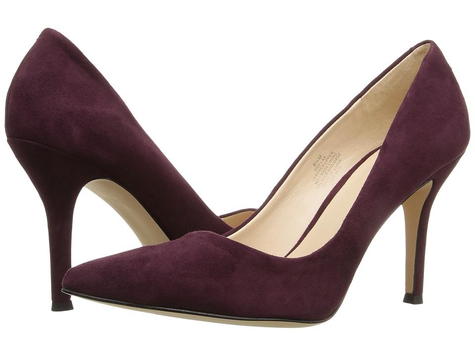Nine West - Flax (Wine Suede 1) High Heels