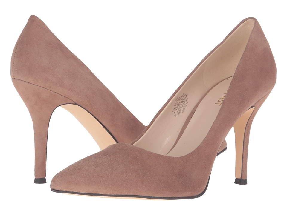 Nine West - Flax (Natural Suede 1) High Heels