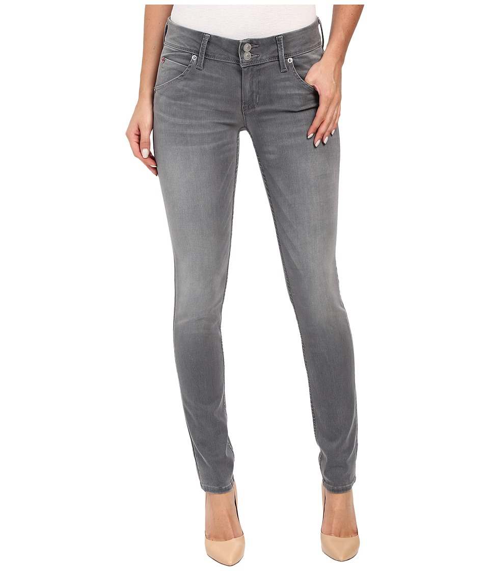 Hudson - Collin Skinny in Grey Wash in Spark Plug (Spark Plug) Women's Jeans