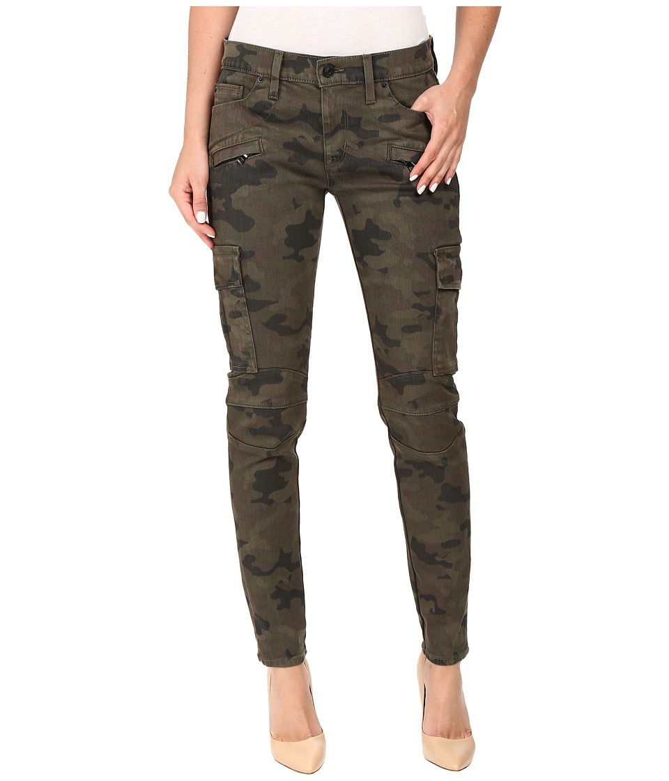 Hudson - Colby Ankle Moto Skinny Cargo in Rustic Camo (Rustic Camo) Women's Jeans
