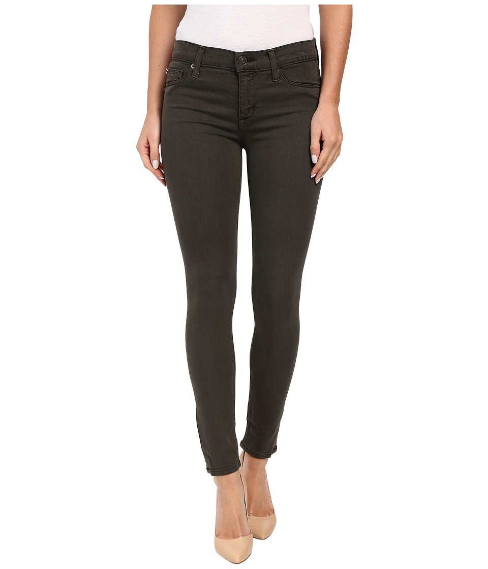 Hudson - Nico Mid-Rise Ankle Skinny in Trooper Green (Trooper Green) Women's Jeans