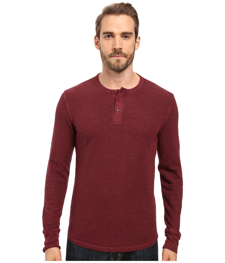 Lucky Brand Thermal Henley (Port Royale) Men