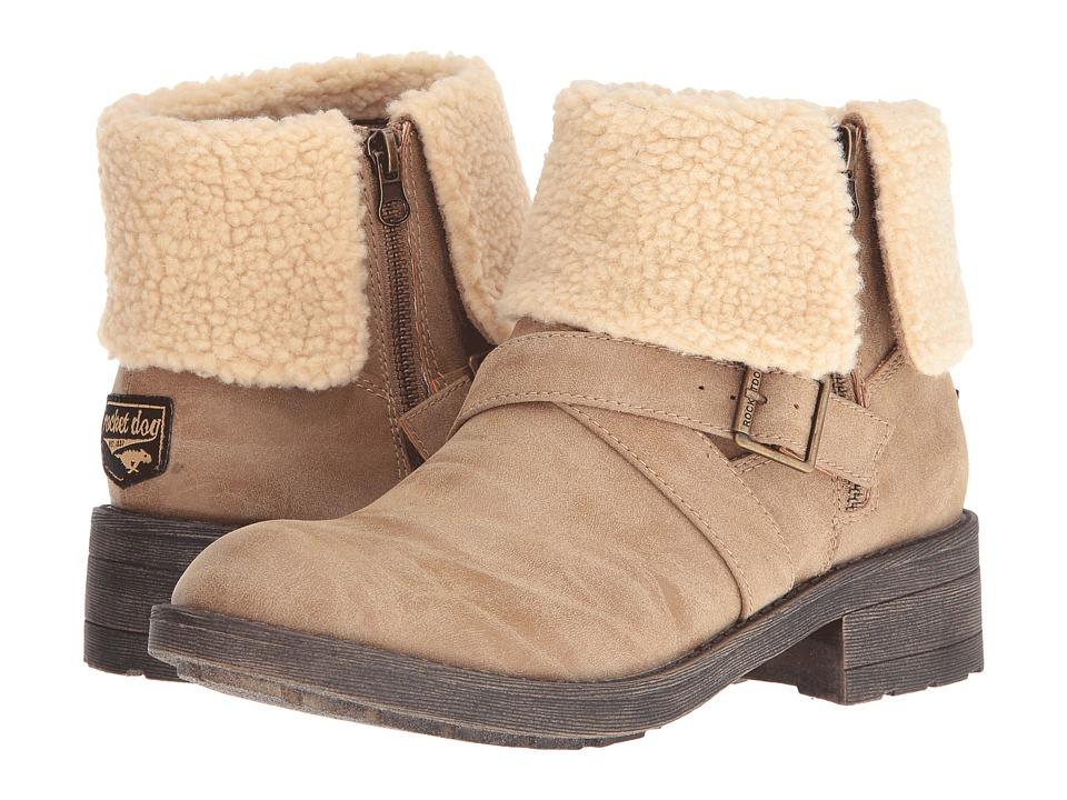Rocket Dog - Tobie (Natural Heirloom) Women's Zip Boots