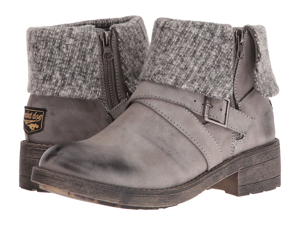 Rocket Dog - Tobie (Grey Whitman) Women's Zip Boots