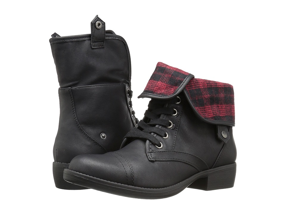 Rocket Dog - Taylor (Black Lewis Altan) Women's Lace-up Boots