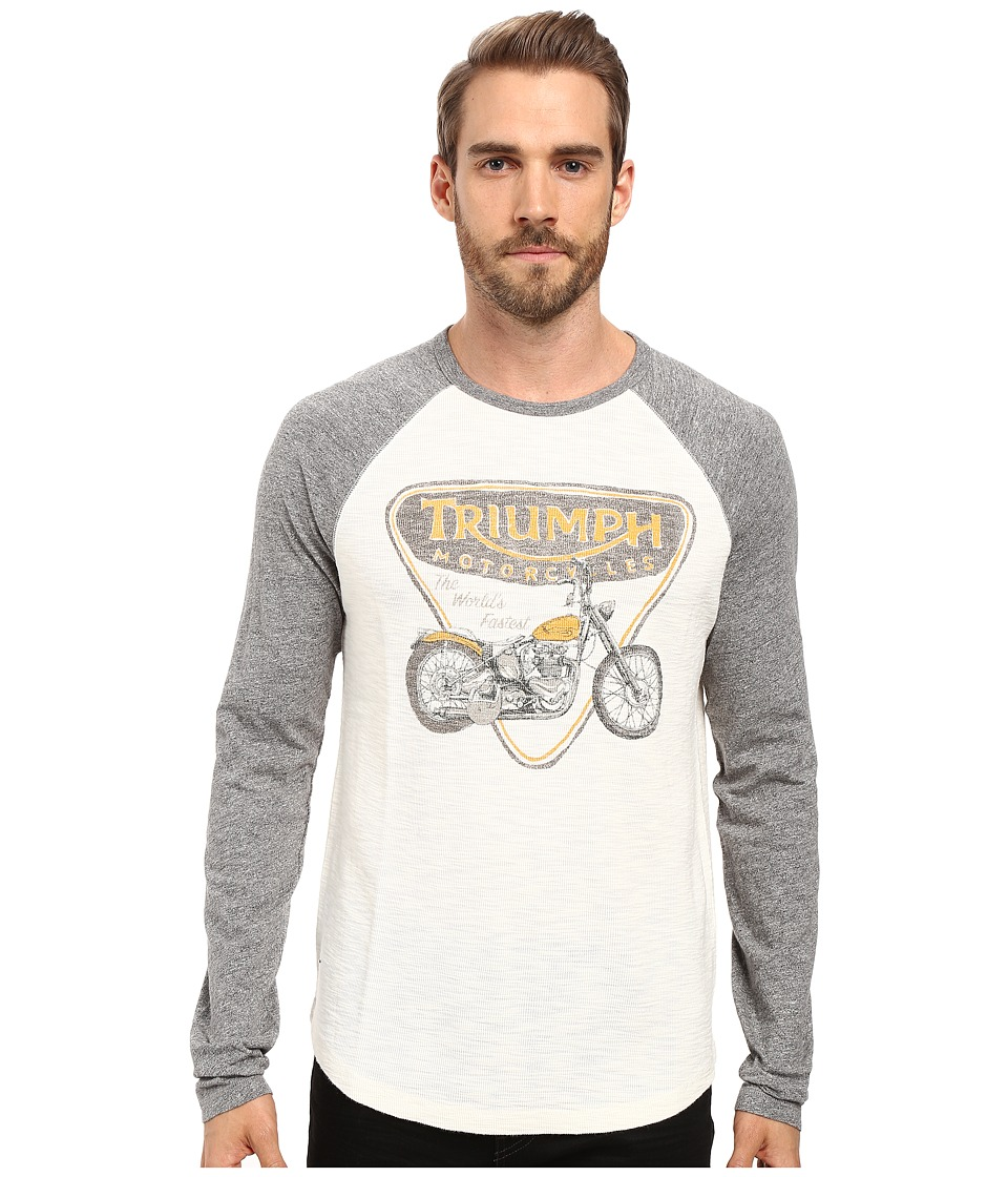 Lucky Brand - Triumph Badge and Bike (Multi) Men's Clothing