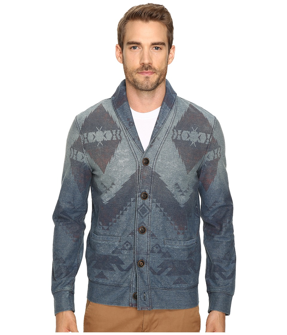 Lucky Brand - Indigo Novelty Pullover (Indigo) Men's Clothing