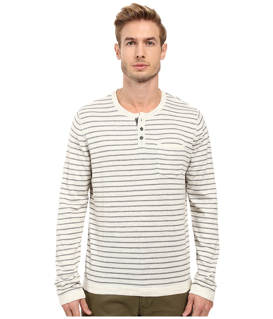 Lucky Brand - Fine Gauge Henley (Multi) Men's Clothing