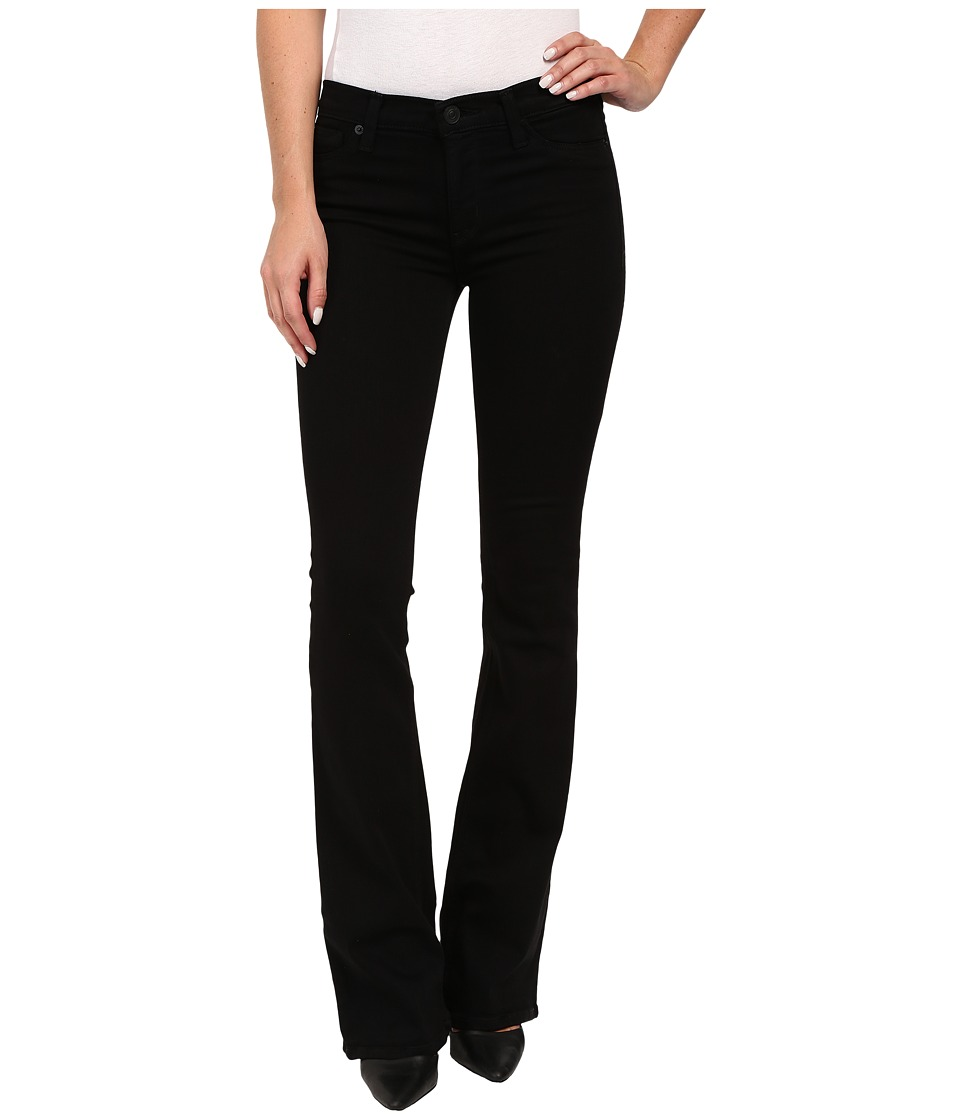Hudson - Love Mid-Rise Five-Pocket Bootcut in Black (Black) Women's Jeans