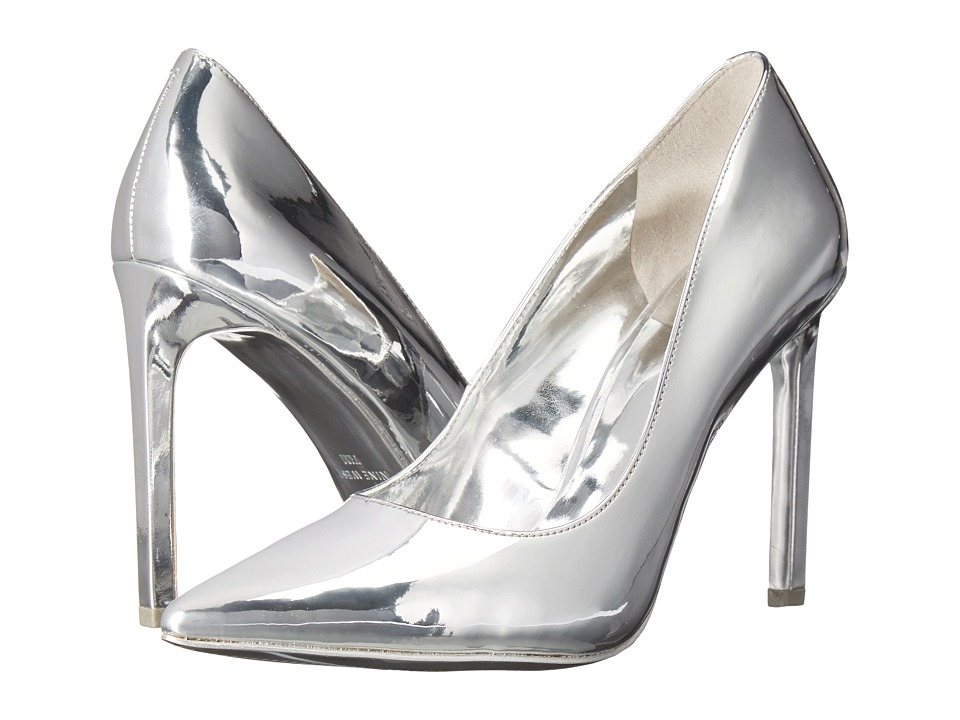 Nine West - Tatiana3 (Silver Synthetic) Women's Shoes