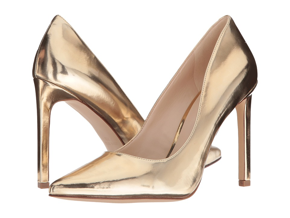 Nine West - Tatiana3 (Gold Synthetic) Women's Shoes
