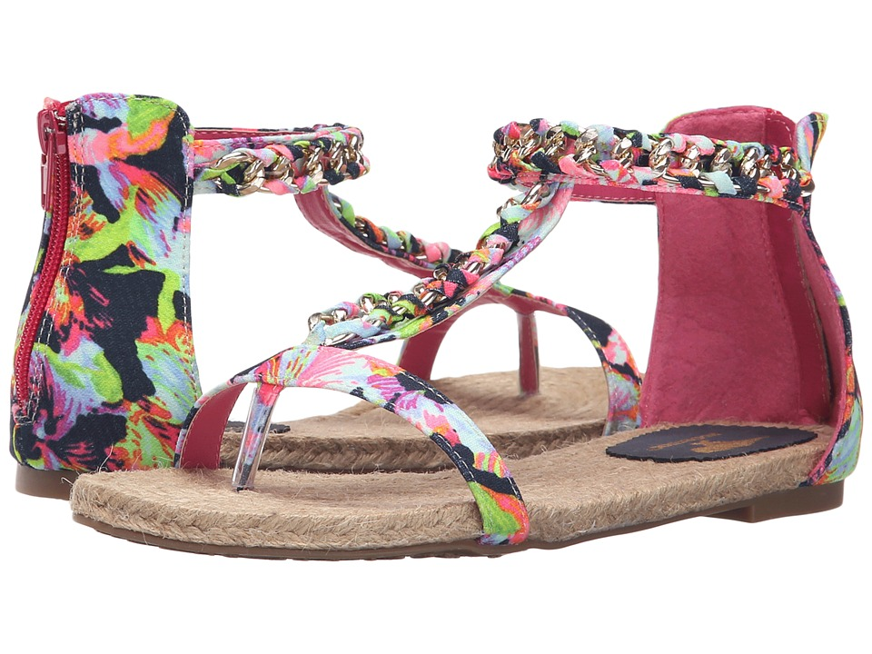 Rocket Dog - Halsey (Navy Tropical Sunset) Women's Sandals