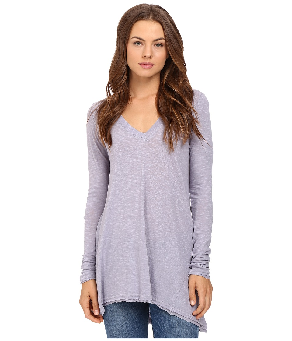Free People - Anna Tee (Lavender) Women's T Shirt